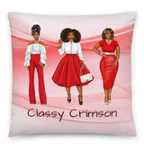 Crimson Love Personalized Cozy Pillow - Love by Eva Simone Delta paraphernalia