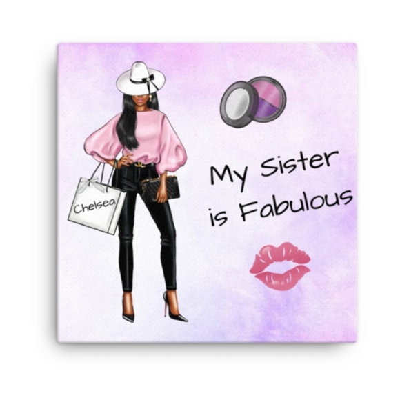 Always Fabulous Personalized Canvas Print | Valentine's Gift | Home Decor Multiple Sizes