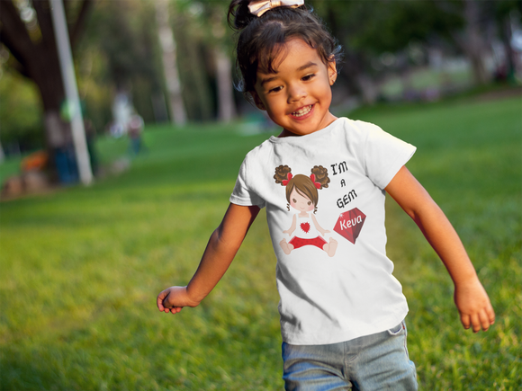 Toddler Gems Short Sleeve Tee