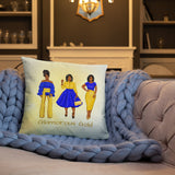 Gold Love Personalized Cozy Pillow - Love by Eva Simone