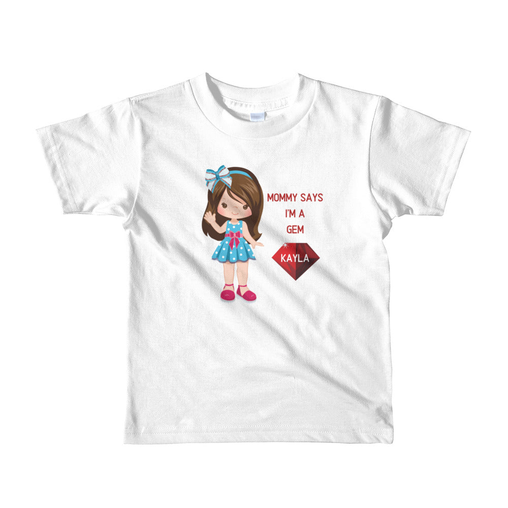 Gem Girls Short Sleeve T-shirt