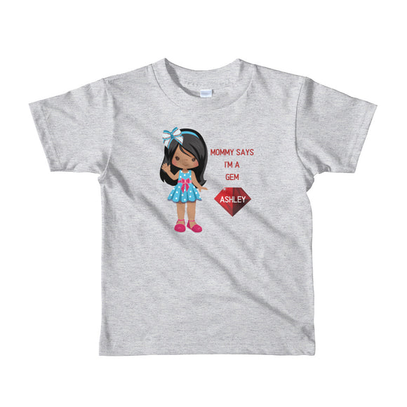 Kid's Gems Short Sleeve T-shirt