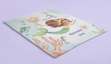 Mermaid Friends Cozy Minky Fleece Blanket
