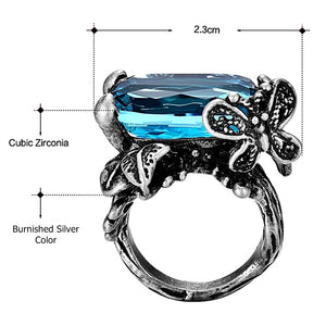 Simone Signature - Butterfly Blues Vintage Ring