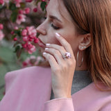 Simone Signature - Blissful Pink Vintage Ring