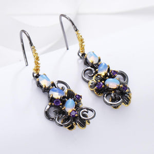 Simone Signature - Moonlight Flower Earrings