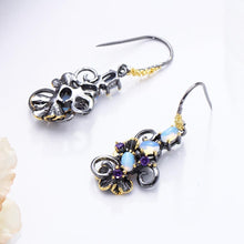 Load image into Gallery viewer, Simone Signature - Moonlight Flower Earrings