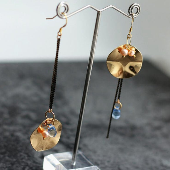 Crystal Water Drop Earrings - Love by Eva Simone