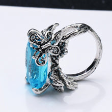 Load image into Gallery viewer, Simone Signature - Butterfly Blues Vintage Ring