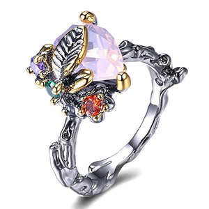 Simone Signature - Blissful Butterfly Vintage Ring