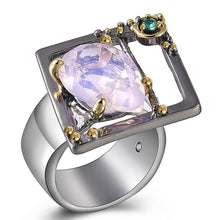 Load image into Gallery viewer, Simone Signature - Blissful Art Deco Ring