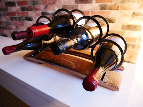 5 Ring Bridge Wine Rack