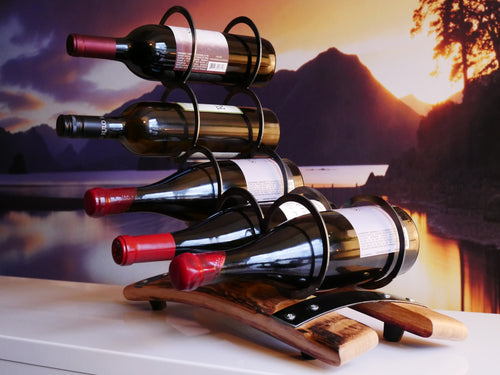 5 Ring Up Swing Wine Rack