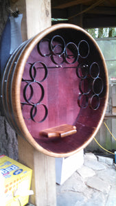 Open Face Round Rack