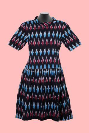 Ikat Motley Dress