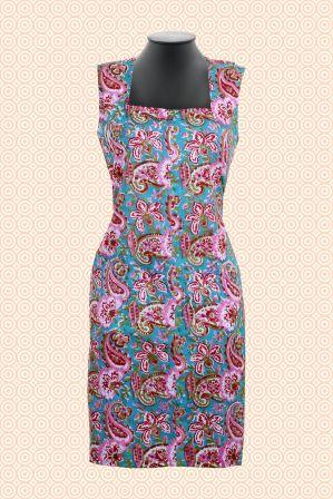 Handblock Jaipuri Linear Dress