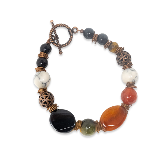 Multi-Colored Bohemian Bracelet