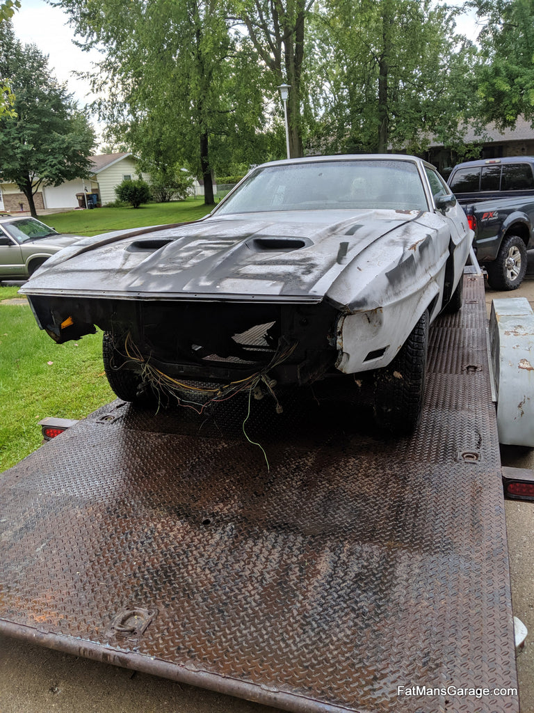 1973 Mustang Project Car