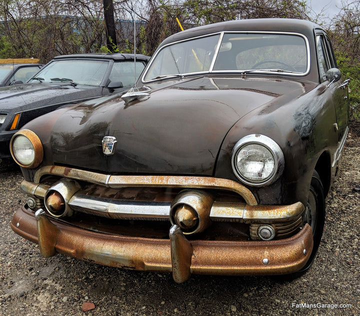 1951 Ford Sedan with Flathead V8