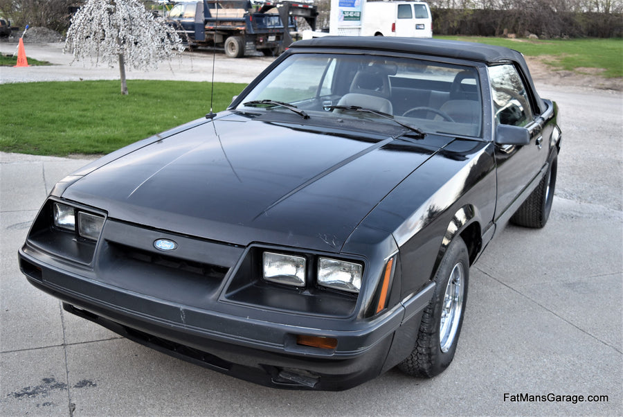 1985 Ford Mustang GT Convertible 2D