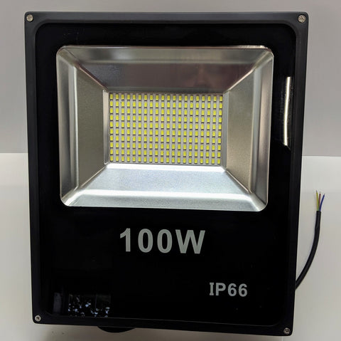 100 Watt IP66 Rated LED Outdoor Flood Light