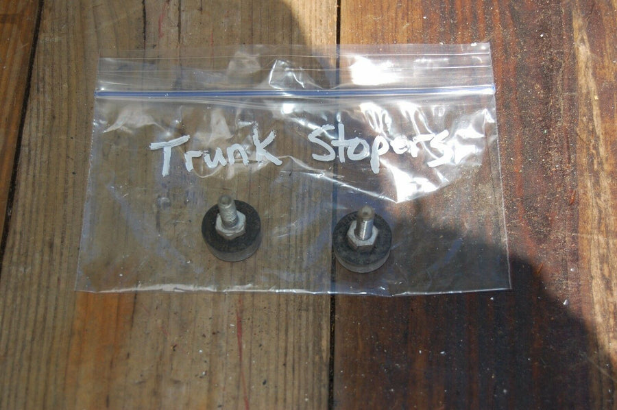 1949 Buick Super Trunk Stoppers Roadmaster Stops Pad Stop