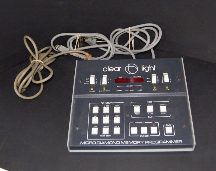 Clear Light Micro Diamond Memory Programmer System Power Tested Working Unit