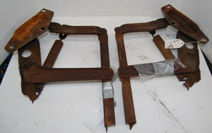 1972 72 Ford Gran Torino Sport Cobra Jet Original Hood Hinges With Spring Bolts