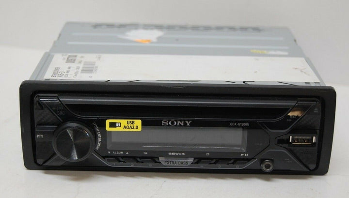 Sony CDX-G1200U Single DIN SiriusXM Ready CD Car Stereo Receiver New No Box