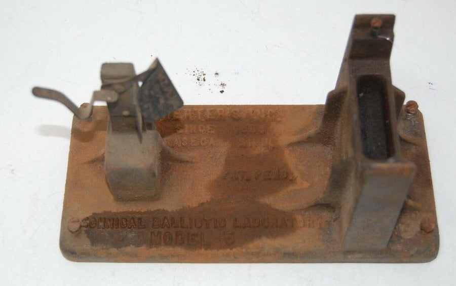 Herter's Technical Ballistic Laboratory Model 5 Reloading Powder Scale For Parts