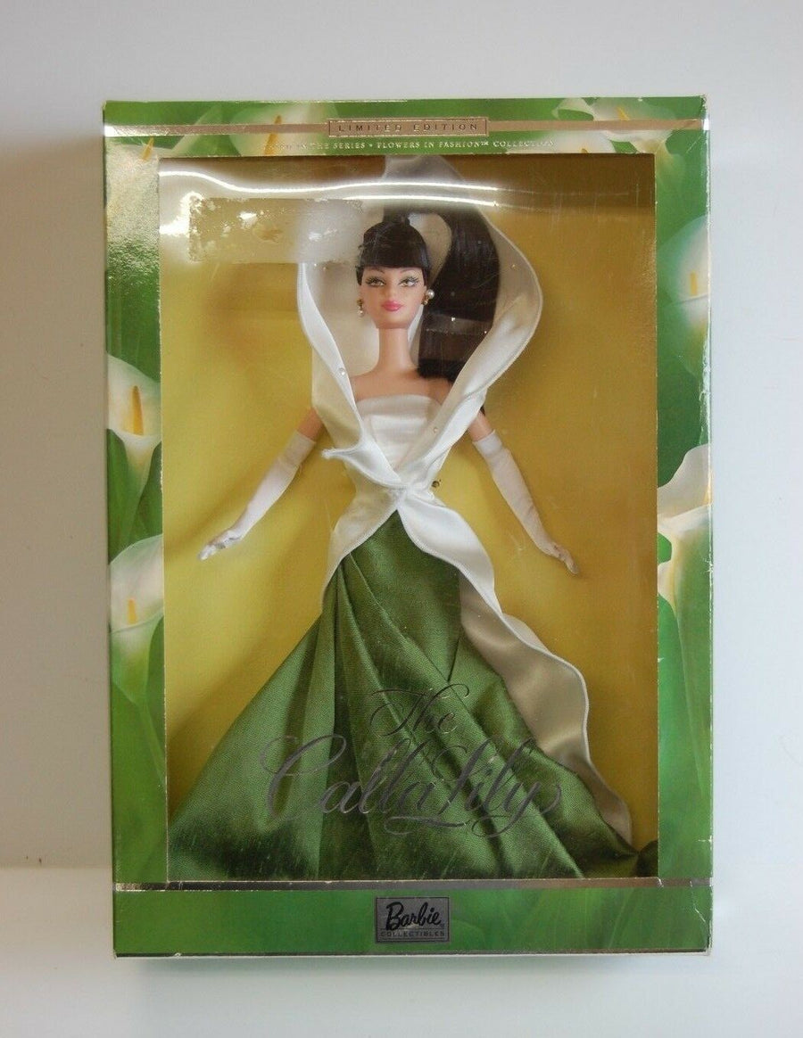 Limited Edition The Calla Lily Barbie Doll 2001 Mint Condition Collectors Rare