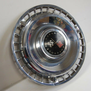 Vintage 1961 Chevy Impala Bel Air Biscayne Hubcap Wheel Cover