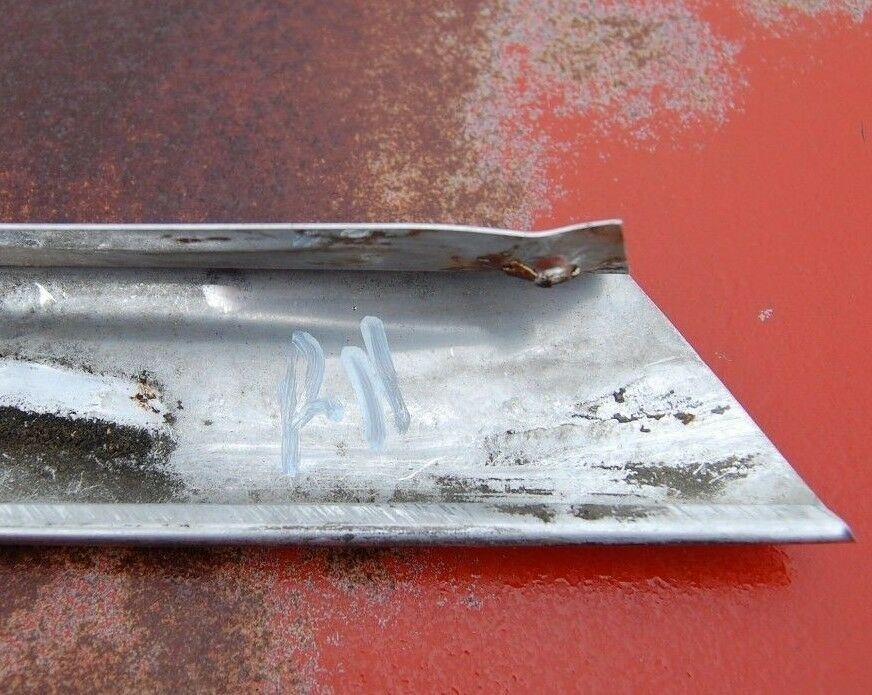 1964 Mercury Maurauder 4 DR Fastback Chrome Passenger RH Window Molding Trim