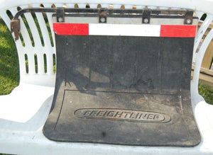 Man Cave Freightliner Mud Flap Semi Truck Collectible Vintage 24'' Garage Decor