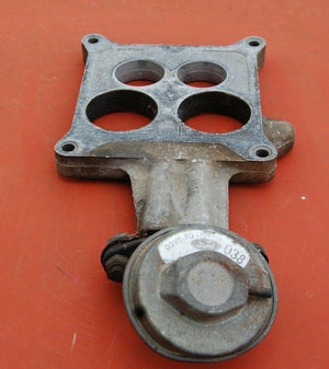 1975 Ford Lincoln Continental  EGR Riser Plate D5VE9A589 AD With Valve