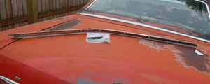 1964 Ford Galaxie 500 Left Driver Door Roof Reveal Track Trim Molding