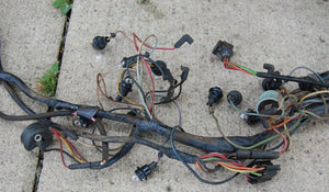 64 Ford Galaxie 500 Entire Chassis Under Dash Taillight Fuse Box Wiring Harness