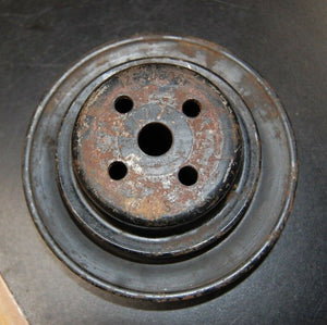 67-70 Chevy GM Vintage Small Block Single Groove Water Pump Pulley 3927797AF