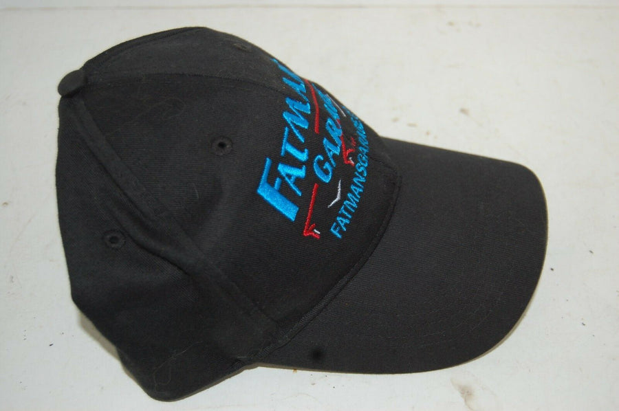 Fatman's Garage Black Ball Cap