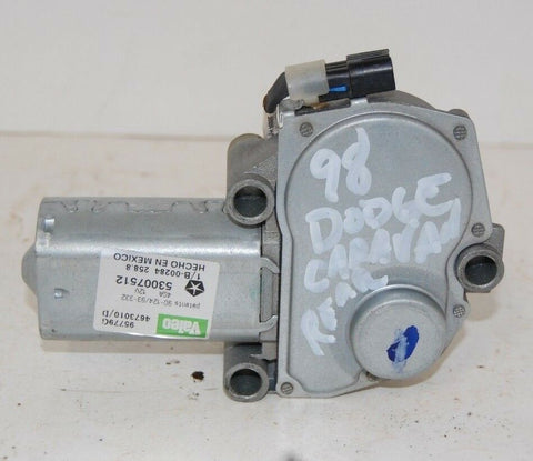 98 1998 DODGE CARAVAN Chrysler Town and Country REAR WINDSHIELD WIPER MOTOR