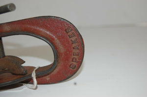 Antique Service Station Tire Patch and Repair Press Tool