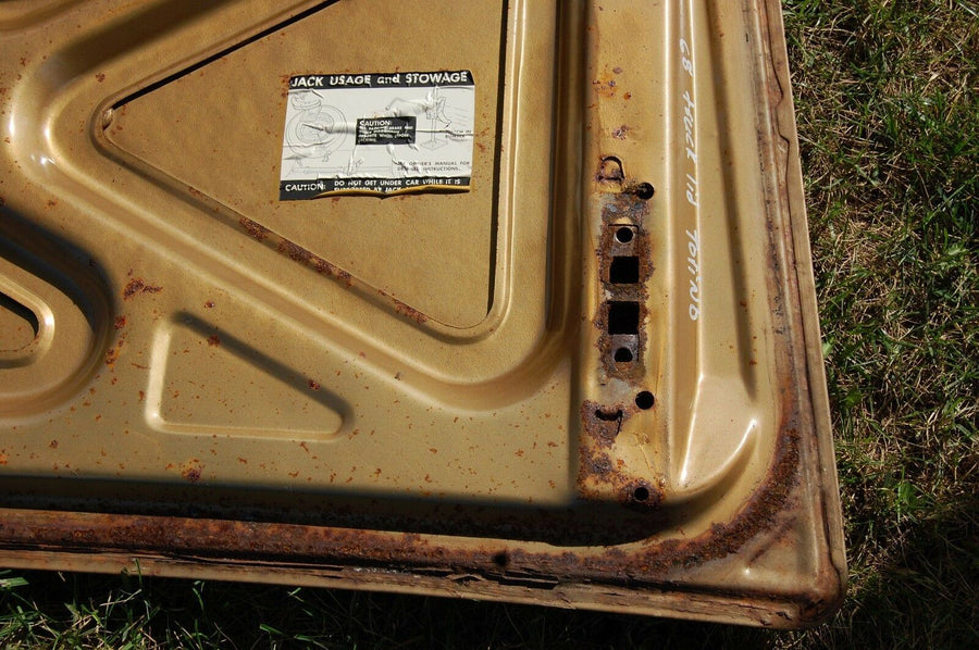 1968 1969 Ford TORINO FORMAL TOP Trunk Lid Mercury Cyclone MUSTANG COUGAR 68 69