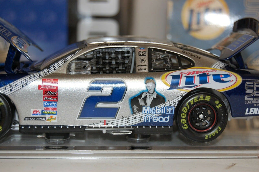 Rusty Wallace #2 Miller Lite/Elvis 25th Anniversary 2002 ACTION 1:24 STOCK CAR