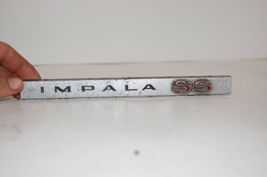 Original Vintage 1967 Chevy Impala SS Emblem Part No. 9704117