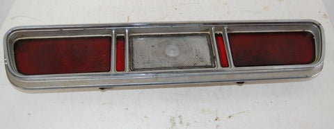 1967 CHEVY IMPALA  REAR TAIL LIGHTS ASSEMBLY BEZEL TRIM LENS LEFT OEM 67 HOT ROD