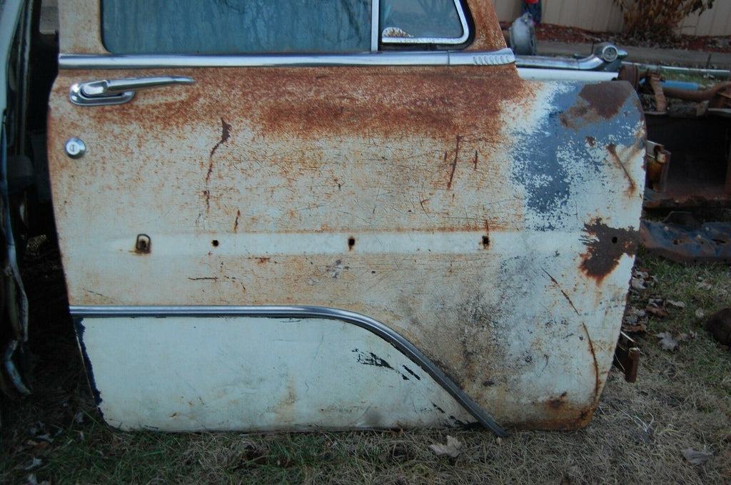 1956 PLYMOUTH SAVOY BELVEDERE OEM RIGHT FRONT DOOR WHOLE