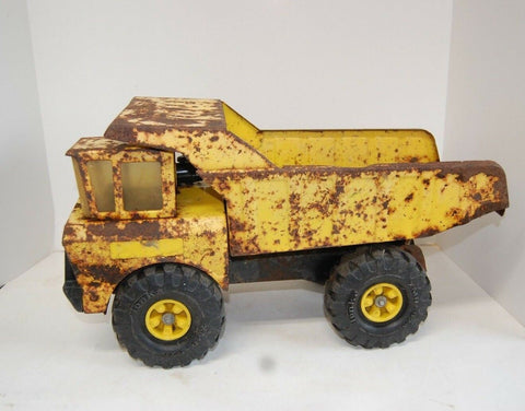 Vintage ~ 1970's ~ Pressed Steel ~ MIGHTY TONKA DUMP TRUCK CHILDREN'S TOY TRUCK