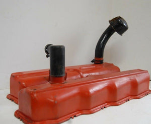 1956 PLYMOUTH BELVEDERE VALVE COVERS  PANS  LEFT & RIGHT SAVOY