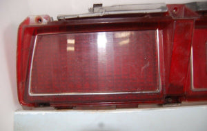 1979 CHEVY IMPALA TAIL LIGHT ASSEMBLY W/ HOUSING, LENS, VALANCE OEM 79 LEFT REAR