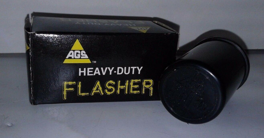 AGS Heavy Duty Flasher #550 12V 3-Terminal-Prong Turn Signal Flasher Blinker